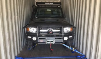 RHD HZJ79 Dual Cabin Pickup full